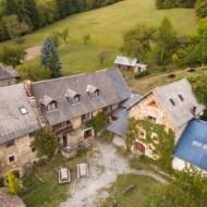 Vu aérienne de la propriété