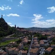 Vue de la ville du Puy depuis la chapelle