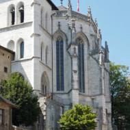 château des Ducs - chapelle depuis esplanade