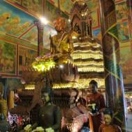 intérieur de Wat Phnom