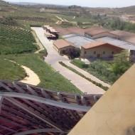 une partie des installation visible depuis l'hotel Marqués de Riscal
