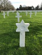 tombe d'un soldat juif américain
