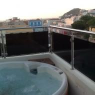 jacuzzi sur le toit