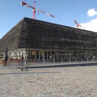 Bâtiment abritant les Halles Bacalan