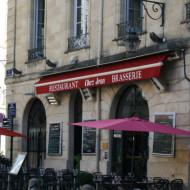 Le restaurant place du Parlement.