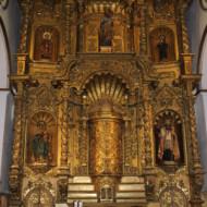 l'autel de l'église SAN JOSE