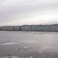 Palais de l'Ermitage et la Neva