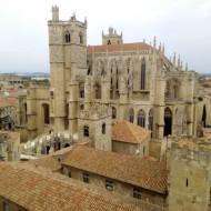 Vue de la cathédrale depuis le donjon