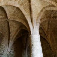 château de Quéribus - salle du donjon