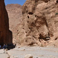 La hauteur des falaises attirent des adeptes de l'escalade.