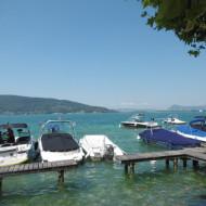 port sur le lac