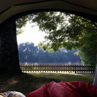 Vu de la tente