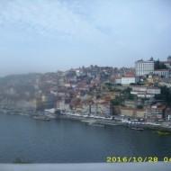 Vue de Porto du pont.