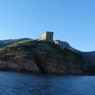 La tour vue du bateau