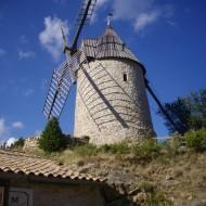 Le moulin d'Omer à Cucugnan
