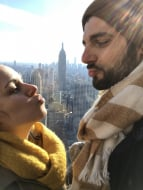 En amoureux sur le Top of the rock