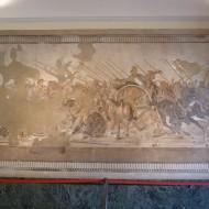 Mosaïque d'Alexandre le Grand, de la Maison du Faune