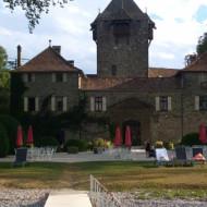 le château et ses chambres