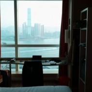 Chambre étage supérieure avec vue sur la baie