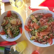 Superbe salade petit modèle imaginons le grand !!