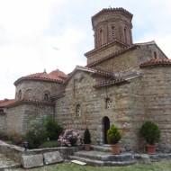 le monastère depuis l'entrée de la cour