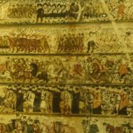 parchemin de la procession du roi