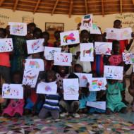 un atelier enfants;......