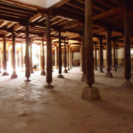 les piliers de la grande salle de prière
