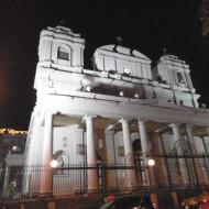 façade de nuit