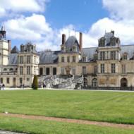 Vue du château depuis l'entrée